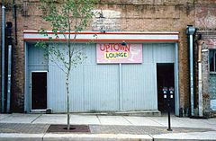 The first location of the Uptown Lounge (40 Watt's rival). Uptown would become the Georgia Theater the next year and provide a very large local venue.