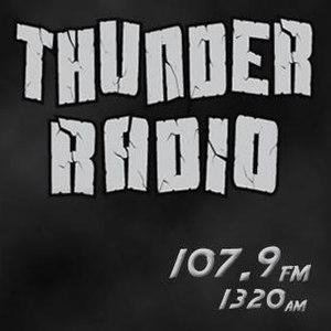WMSR (AM) - Image: WMSR AM Thunder Radio logo