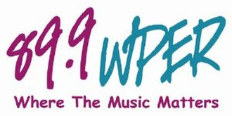 WPIR (FM) - Old WPER Logo used from 1999 to 2006