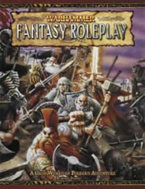 Warhammer Fantasy Roleplay - Image: Warhammer fantasy roleplay cover