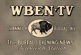 WIVB-TV - An early WBEN-TV identification card.