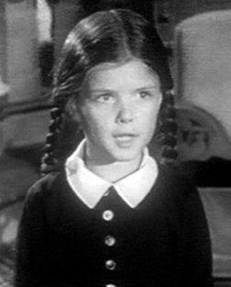 Wednesday Addams - Lisa Loring as Wednesday in The Addams Family original series.