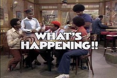 Picture of a TV show: What's Happening!!