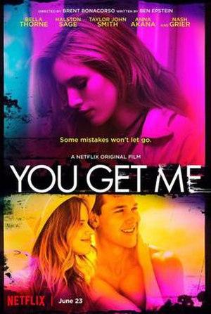 You Get Me (film) - Image: You Get Me Poster