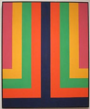 Howard Mehring - 'Chroma Double' by Howard Mehring, 1965