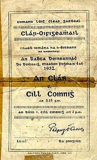 1932 All-Ireland Senior Hurling Championship Final