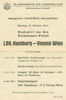 1943 Tschammerpokal Final association football match