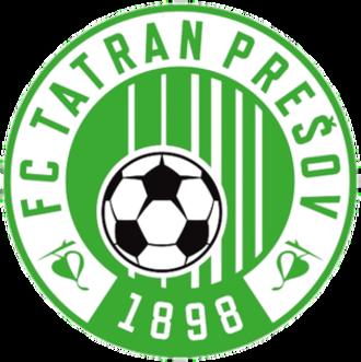 1. FC Tatran Prešov - Image: 1FC Tatran