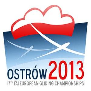 European Gliding Championships 2013 - Image: 2013 European Gliding Championships Ostrów logo