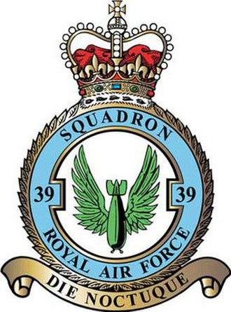 No. 39 Squadron RAF - 39 Squadron badge