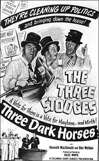 <i>Three Dark Horses</i> 1952 film by Jules White
