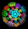 120-cell 4-dimensional puzzle