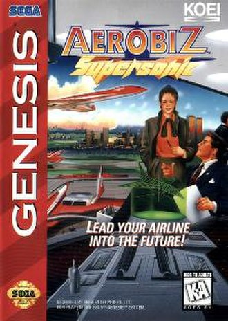 Aerobiz Supersonic - Genesis version cover art.
