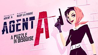 <i>Agent A: A Puzzle in Disguise</i> 2019 puzzle game