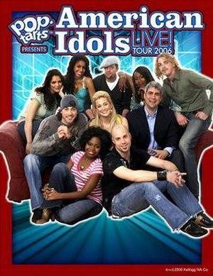 American Idols LIVE! Tour 2006 - Image: Ai 5 top 10 tour
