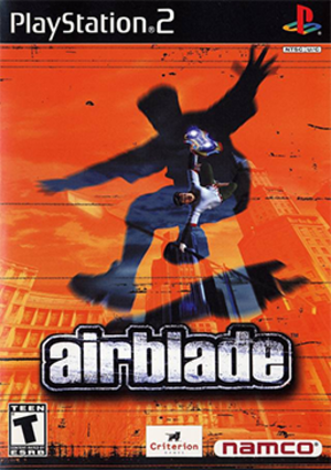 AirBlade - North American cover art