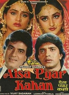 <i>Aisa Pyaar Kahan</i> 1986 Hindi-language film directed by Vijay Sadanah