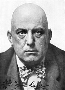 1912 photograph of Aleister Crowley
