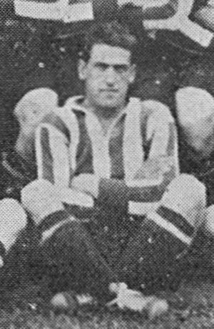 Alexander Stevenson (footballer) - Stevenson while with Brentford in 1927.