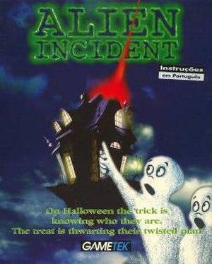 Alien Incident - European cover art