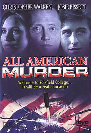 All-American Murder - Image: All American Murder (movie poster)