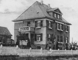 Fritz Angerstein - The villa where the murders took place.