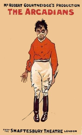 The Arcadians (musical) - The luckless jockey Peter Doody