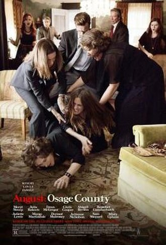 August: Osage County (film) - Image: August Osage County 2013 poster