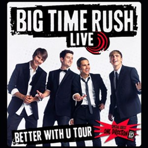 Better with U Tour - Image: BTR BWU Tour Poster