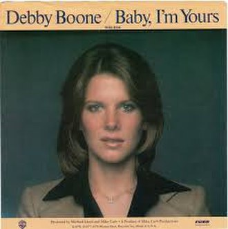 Baby I'm Yours (Barbara Lewis song) - Image: Baby I'm Yours Debby Boone