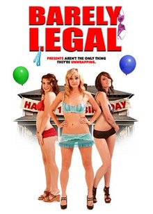 Barely Legal movie poster