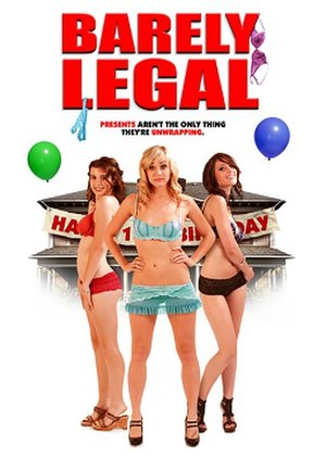 Barely Legal (film) - Barely Legal movie poster