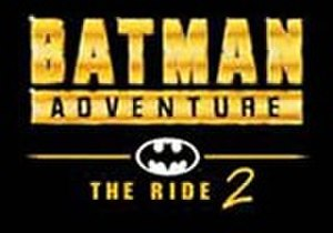 Batman Adventure – The Ride - Image: Batman Adventure 2Logo