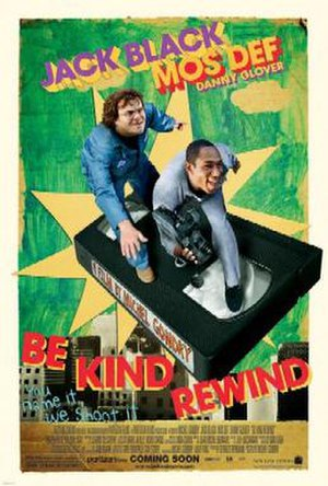 Be Kind Rewind - Theatrical release poster