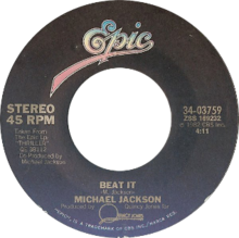 Beat It by Michael Jackson US 7-inch vinyl Side-A.png