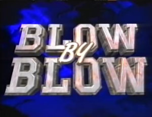 Blow by Blow (Philippine boxing program) - Image: Blow by Blow titlecard