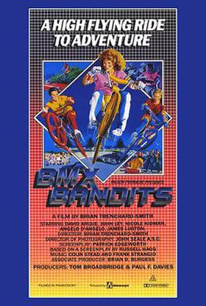 BMX Bandits (film) - Theatrical release poster