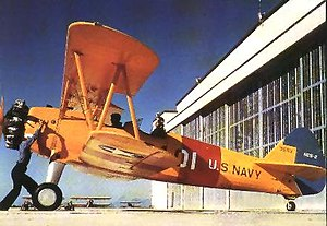 Stearman Aircraft - Boeing/Stearman N2S Kaydet at NAS Corpus Christi