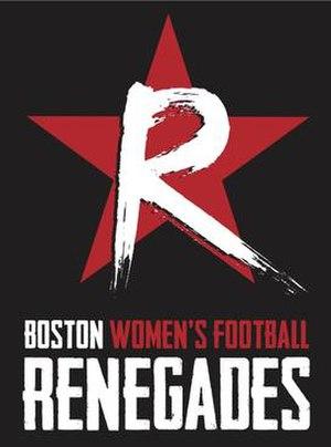Boston Renegades (WFA) - Image: Boston Renegades WFA team logo