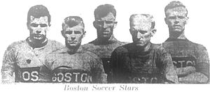 Boston Soccer Club - J.Ballantyne, McNab, McArthur, T.Fleming, McMilan