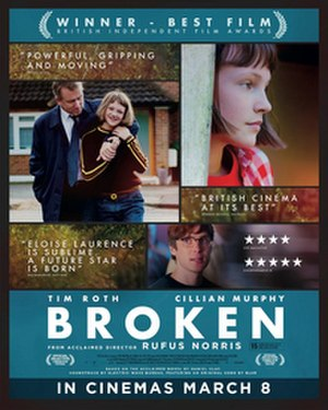Broken (2012 film) - Theatrical release poster