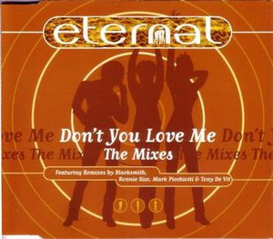 Don't You Love Me (Eternal song) - Image: CD Single Cover for Eternal Dont You Love Me CD2