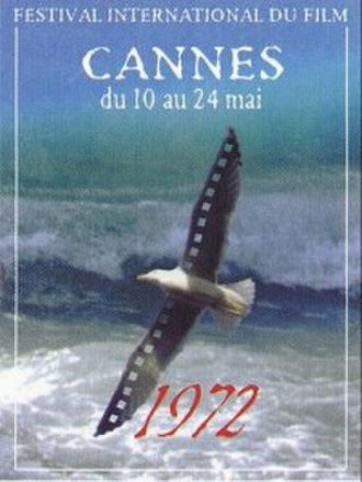1972 Cannes Film Festival - Official poster of the 25th Cannes Film Festival.