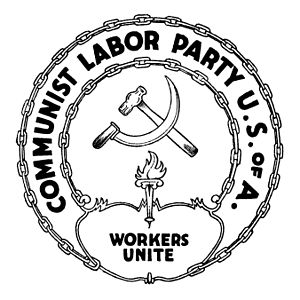 Communist Labor Party of America - Logo of the Communist Labor Party of America.