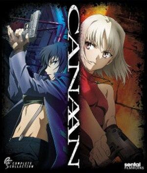 Canaan (anime) - Image: Canaan Blu ray cover