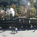 Thumbnail image of Shay Locomotive at Cass Scenic Railroad State Park
