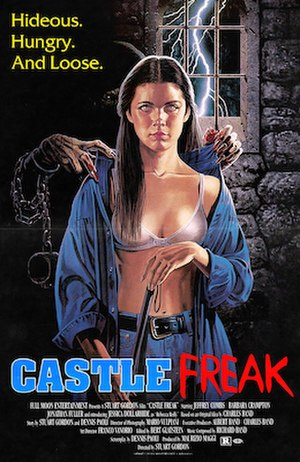 Castle Freak - Home video release poster