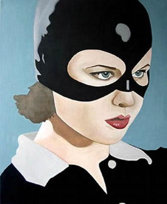 Cathy Lomax - Fetish Girl by Cathy Lomax 2003 (based on Thora Birch as Enid in the United Artists film Ghost World)