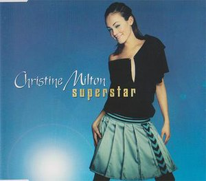 Superstar (Christine Milton song) - Image: Christine Milton Superstar