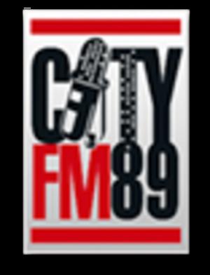City FM 89 - Image: City FM 89 logo
